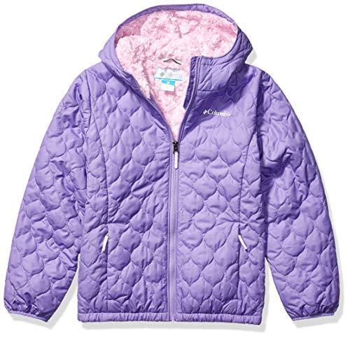 Columbia Girls' Big Bella Plush Jacket, Paisley Purple, X-Large