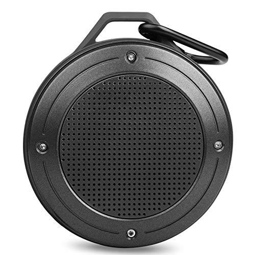 GXHGRASS Bluetooth-luidspreker, kleine draadloze luidspreker, IPX6, waterdicht, stofdicht, met kaartsleuf, microfoon voor Echo Dot