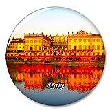 Italia Río Arno Toscana Imán de Nevera, imán Decorativo, Ciudad turística, Viaje, colección de Recuerdos, Regalo, Pegatina Fuerte para Nevera