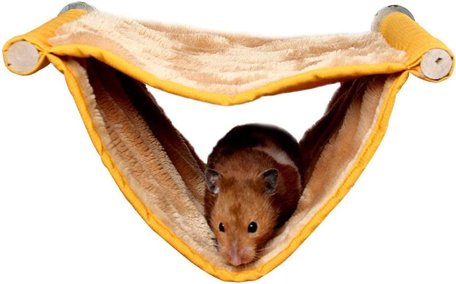 Wontee Hamster Plush Hammock Bird Hanging Challenge the lowest price Max 75% OFF of Japan Nest Rat for Squir Bed