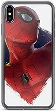 iPhone Xs Max Pure Anti-Scratch Case Spiderman Peter Parker Stan Lee Movie Shield Avengerss Comic Superhero