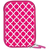 Macbeth Collection Weather-Resistant Neoprene Body Camera Case, Pink Ava MB-NC2EP
