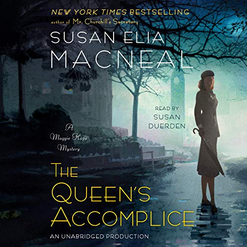 The Queen's Accomplice audiobook cover art