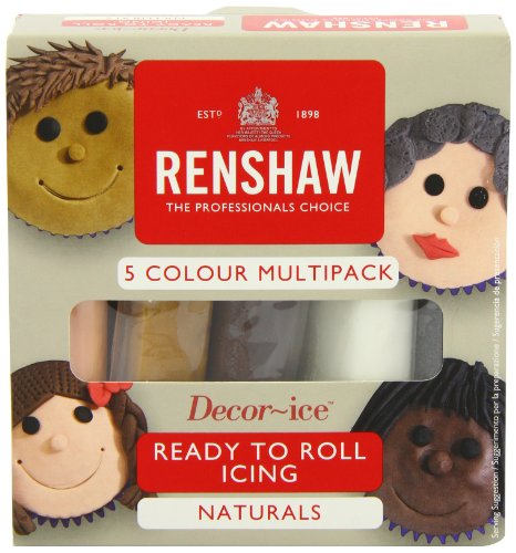 Renshaw Multipack Natural Colours 5 x 100g