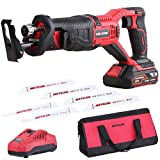 Best Reciprocating Saws - Meterk 20V Cordless Reciprocating Saw, 2.0Ah Batteries 6 Review