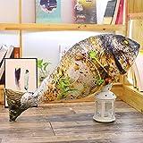 rngwxigfmrwj Juguete de Felpa, Almohada de Comida Algodón Suave Patas de Cerdo rellenas Salchichas Camarones Pollo Pierna Calamar Muñeca Regalos para niños 60cm
