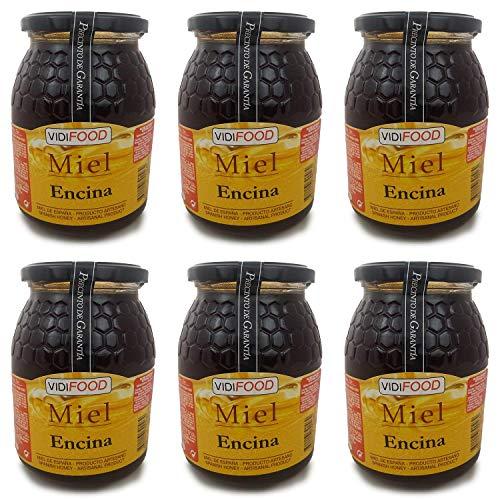 Holm ek honung - 6kg - Producerad i Spanien - Traditionell & 100% ren - Blommig arom och söt smak