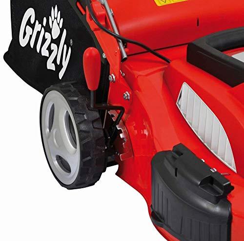 Tagliaerba SEmovente Elettrico Grizzly ERM 1846 GTA da 46 cm di taglio - 1800 Watt - Telaio in Acciaio