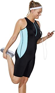 8182a752d0e FREE Shipping on eligible orders. Swimsuits for All Women's Plus Size Lycra  Xtra Life Sport Aquatard Swimsuit