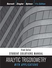 trigonometry 11th edition solutions