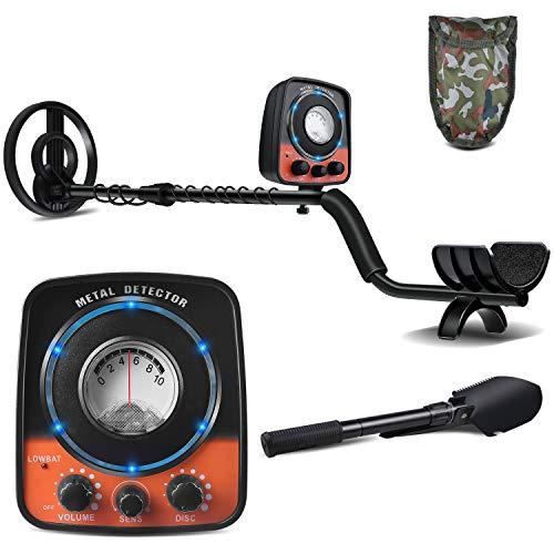UNIROI Detector de Metales, 2 Modos de Busca, Pantalla LCD,