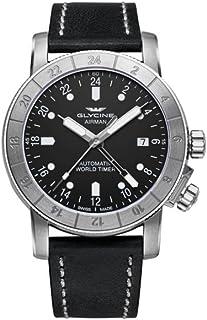 Sponsored Ad - Glycine Airman 42 Mens Analog Swiss Automatic Watch with Leather Bracelet GL0066