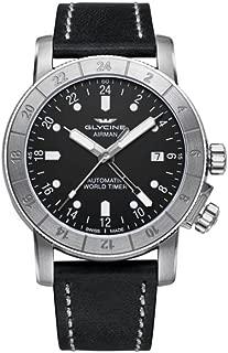 Glycine Airman 42 Mens Analog Swiss Automatic Watch with Leather Bracelet GL0066