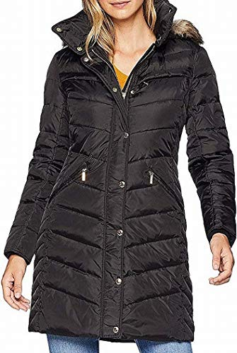 Michael Michael Kors Snap Front 3/4 Down with Hood M823172G Black XL