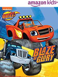 Blaze of Glory (Board) (Blaze and the Monster Machines)