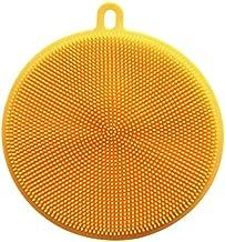 New Silicone Universal Brush Gel Dishwashing Brush Multipurpose Antibacterial Smart Sponge Cleaning Bowl Kitchen Tool (Col...