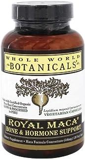 Whole World Botanicals, Maca Bone Support, 120 Capsules