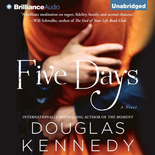 Five Days audiobook cover art