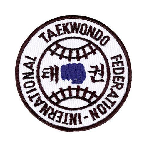 """Tiger Claw International Taekwondo Federation Patch - 4"""" dia"""