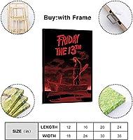 ZZFJF パズルジグソーパズル1000ピース恐怖金曜日映画シリーズポスターパズルクレイミラーパズル大人のための屋内パズルアートロジック脳ティーザー大人のためのパズル50x75cm