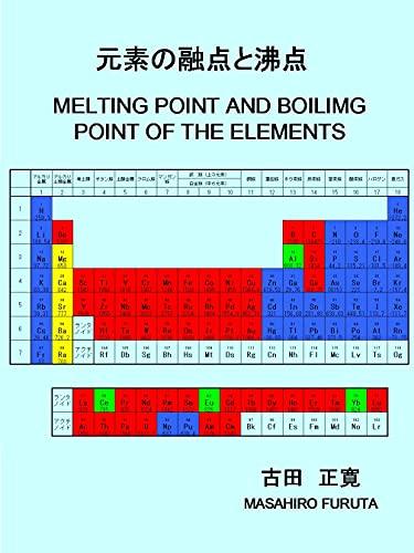 元素の融点と沸点