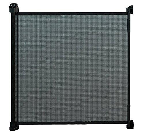 Gaterol Active Lite Negro – barrera de seguridad enrollable para escaleras y vanos de hasta 140cm