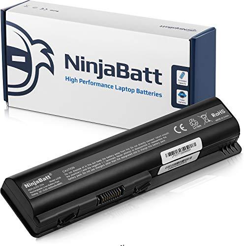 NinjaBatt Batería para HP 484170-001 CQ61 CQ60 EV06 HSTNN-Q34C HSTNN-LB72 HSTNN-CB72 DV4 511872-001 HSTNN-Q39C HSTNN-UB72 G60 G71-340US G60-235DX G60-535DX - Alto Rendimiento [6 Celdas/4400mAh/48wh]