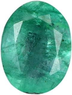 Gemhub 2.65 CT. Natural Esmeralda Egl Certified Corte Oval Piedra Preciosa Suelta - para Colgante/Anillo/Collar AS-001