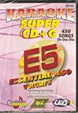 CHARTBUSTER SUPER CD+G Volume #5 - 450 CDG Karaoke Songs Playable on CAVS System or on your PC DVD...