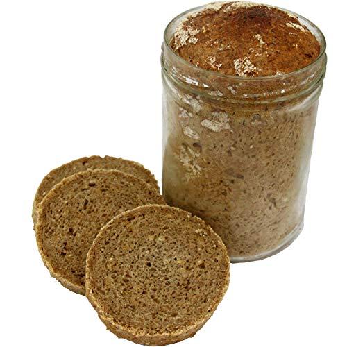 Einkorn-Dinkel Brot im Glas 850ml (15,56 € / kg) - Geschenk