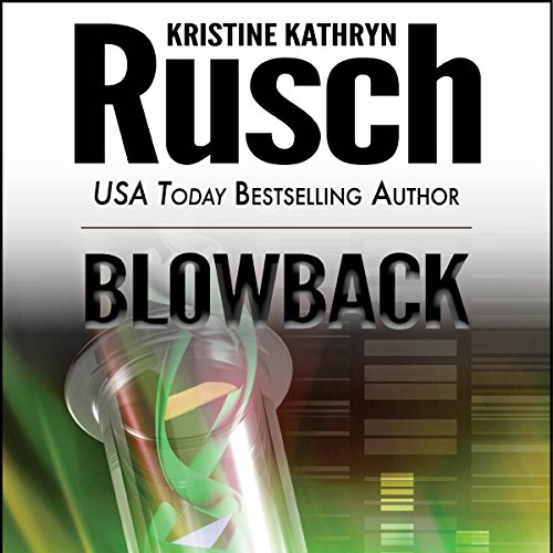 Blowback audiobook cover art