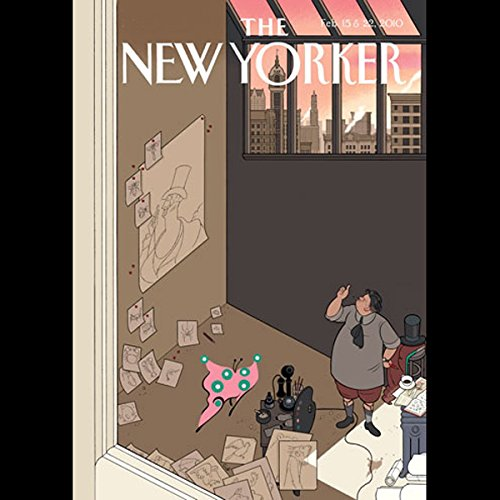 The New Yorker, February 15th & 22nd, 2010 audiobook cover art