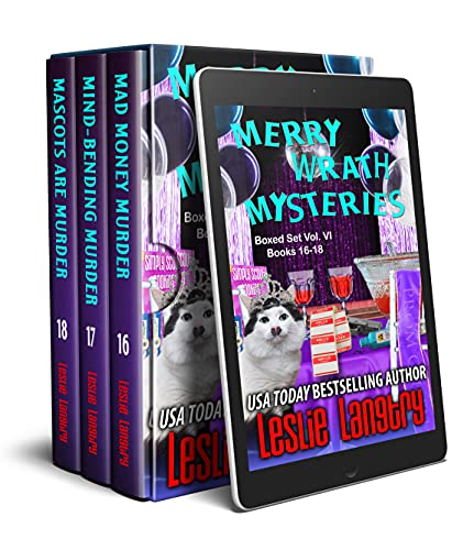 Merry Wrath Mysteries Boxed Set Vol. VI (Books 16-18) by [Leslie Langtry]
