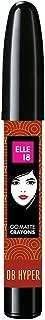 Elle 18 Go Matte Lip Crayons, 08 Hyper Brown, 2.2 g