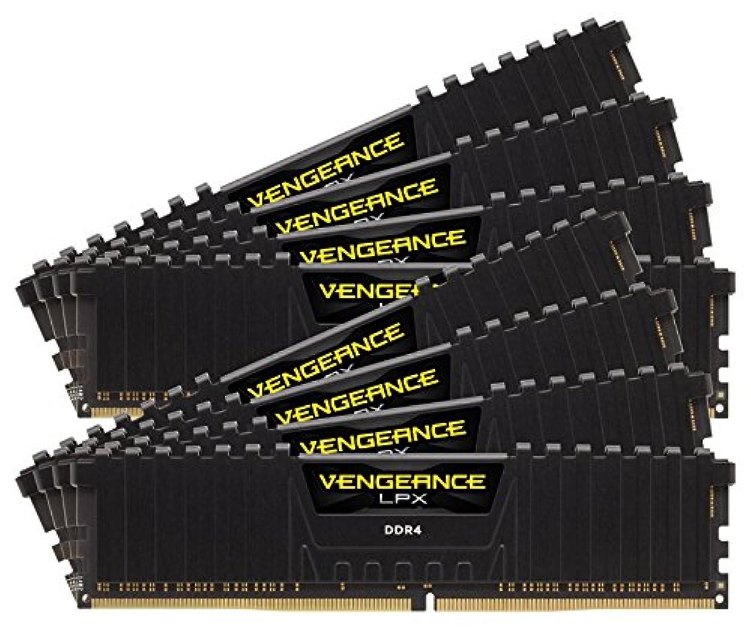 Corsair CMK128GX4M8Z2933C16 Vengeance LPX 128GB (8x16GB) DDR4 2933 (PC4-23400) C16 Desktop Memory for AMD Threadripper