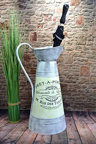 Livitat® Regenschirmständer 58 x 28 cm Schirmständer Landhaus Vintage Blech Metall LV5096