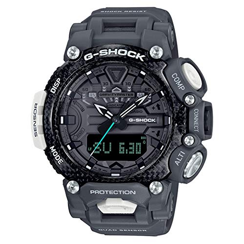 Casio G-Shock By Men's GRB200RAF-8A Analog-Digital Watch Black