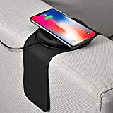 WOTITI Wireless Charger for Sofa amp; Couch, 10W Max Fast Wireless Charging Pad Compatible with iPhone/Airpods/Samsung/QI-Certified Devices, New amp; Patented(No Adapter Included)