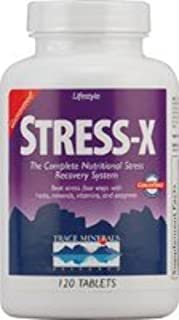 Trace Minerals Stress-X Tablets, 120-Count