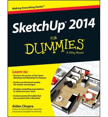 Learn to Harness the power of SketchUp 2014 For Dummies (Paperback) - Common