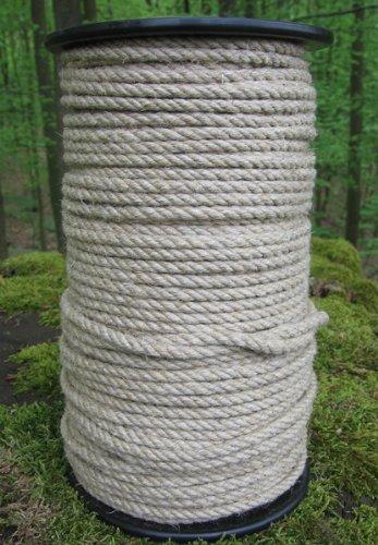 Gepotex corde en chanvre-ø 4 mm - 100 m-galvanisé sur bobine en 100%