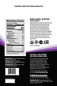 Terrasoul Superfoods Organic Medjool Dates, 2 Lbs - Soft Chewy Texture   Sweet Caramel Flavor   Farm Fresh #3
