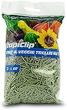 Luster Leaf 867 RapiClip Trellis Netting, 5'x60', Green