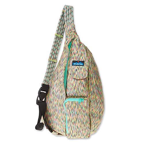 KAVU Original Ropercise Sling Bag Gym Yoga Crossbody Bag - Flash Dance