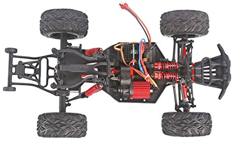 Amewi 22242 X-King PRO 4WD brushless 1:12 Monstertruck, RTR, 2,4GHz