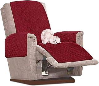 Enjoygoeu - Funda para sillón impermeable reclinable para sofá 1 plaza
