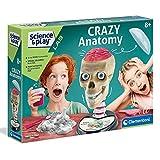 Clementoni- Crazy Anatomy - Kit científico para niños a Partir de 8 años, Multicolor (61520)