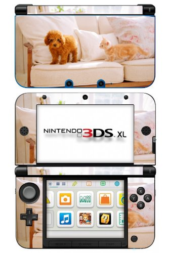 Nintendogs Dogz low-pricing Catz Game Skin for Console Nintendo 3DS XL Bombing free shipping