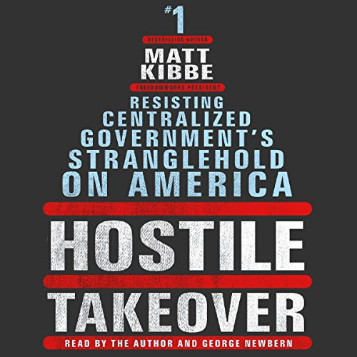 Hostile Takeover audiobook cover art