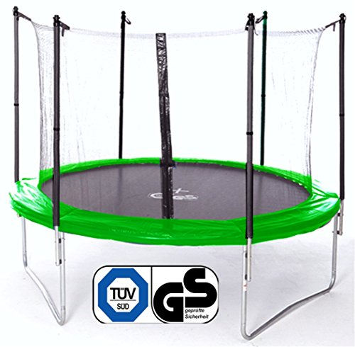 Trampoline de jardin-taille enfant trampoline...